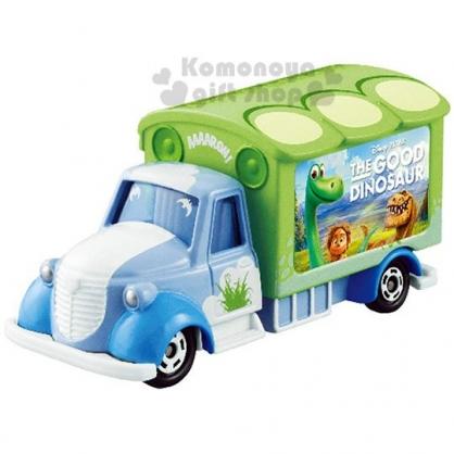 〔小禮堂〕迪士尼 恐龍當家 TOMICA小汽車《綠.電影宣傳車》公仔.玩具.模型