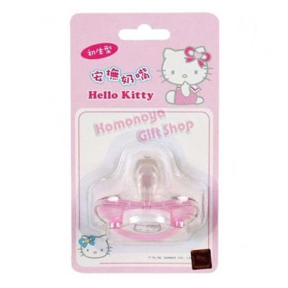 〔小禮堂嬰幼館〕台灣 佳美 Hello Kitty 安撫奶嘴《初生型》附保護蓋