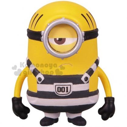 〔小禮堂〕TOMICA 小小兵 公仔模型《黃.監獄服.MEL》擺飾.玩具.精緻盒裝