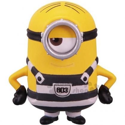 〔小禮堂〕TOMICA 小小兵 公仔模型《黃.監獄服.STUART》擺飾.玩具.精緻盒裝