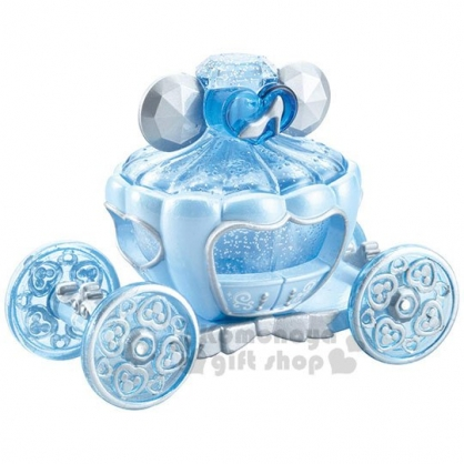 〔小禮堂〕迪士尼 仙杜瑞拉 TOMICA小汽車《藍.馬車》飾品盒.模型.公仔.玩具