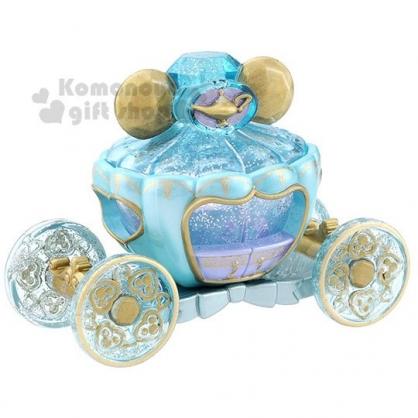 〔小禮堂〕迪士尼 茉莉公主 TOMICA小汽車《藍.馬車》飾品盒.模型.公仔.玩具