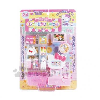 〔小禮堂〕Hello Kitty 超市收銀機玩具《粉.泡殼裝》兒童玩具