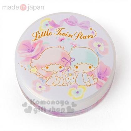 〔小禮堂〕雙子星 日製圓盒香氛護手霜《粉.花朵》玫瑰香.護手乳.手部保養