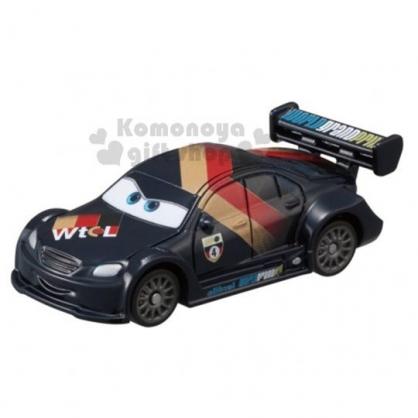 〔小禮堂〕迪士尼 閃電麥坤 TOMICA小汽車《C-20.黑.賽車》公仔.玩具.模型