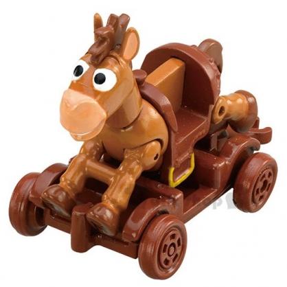 〔小禮堂〕迪士尼 玩具總動員 紅心 TOMICA小汽車《03.棕》公仔.玩具.模型