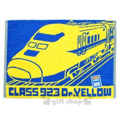 〔小禮堂〕鐵道王國 毛巾腳踏墊《黃藍.列車》45X60cm.浴墊.地墊