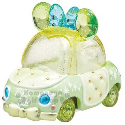 〔小禮堂〕迪士尼 Tinker Bell TOMICA小汽車《綠.水晶金龜車》珠寶車.公仔.玩具.模型