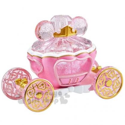 〔小禮堂〕迪士尼 睡美人 TOMICA小汽車《粉.水晶南瓜馬車》珠寶車.公仔.玩具.模型