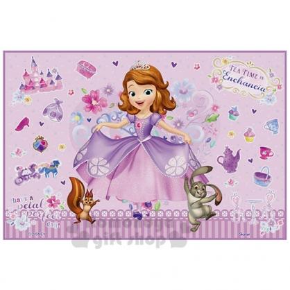 〔小禮堂〕迪士尼 蘇菲亞公主 單人野餐墊《紫.拉裙》60x90cm.海灘墊