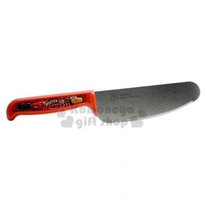 〔小禮堂〕迪士尼 閃電麥坤 日製安全菜刀《紅銀.角色》水果刀.安全刀