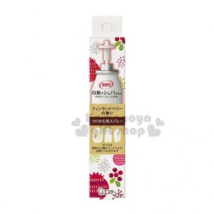 〔小禮堂〕日本雞仔牌 除臭機補充瓶《紅》39ml.莓果香.芳香劑