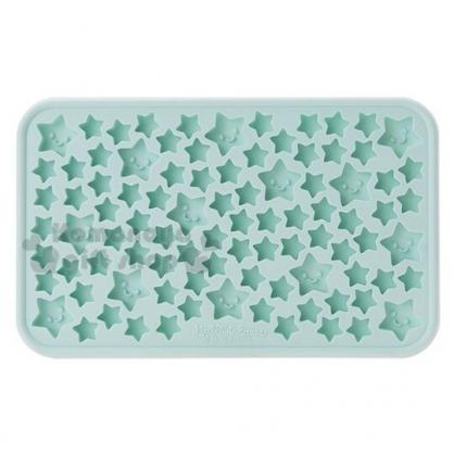 〔小禮堂〕雙子星 迷你矽膠造型製冰模《薄荷綠》製冰盤.模具.2019夏日單品