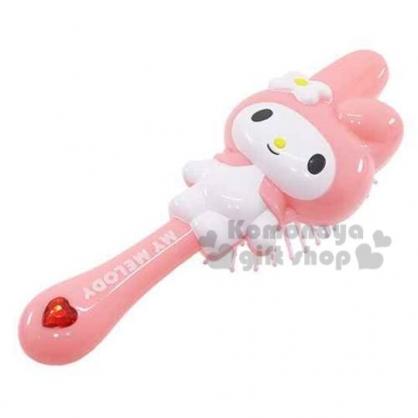 〔小禮堂〕美樂蒂 立體人形梳子《粉.站姿》實用可愛