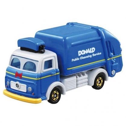 〔小禮堂〕迪士尼 唐老鴨 TOMICA小汽車《DM-05.垃圾車》公仔.玩具.模型