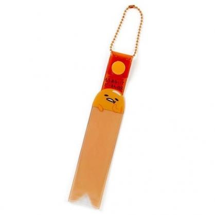 〔小禮堂〕蛋黃哥 塑膠演唱會彩帶收納套掛飾《橘》吊飾.鑰匙圈.粉絲收納系列