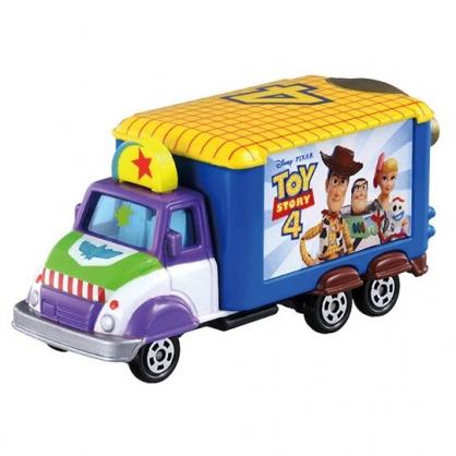 〔小禮堂〕玩具總動員4 TOMICA小汽車電影宣傳車《黃藍.DM-07》公仔.玩具.模型
