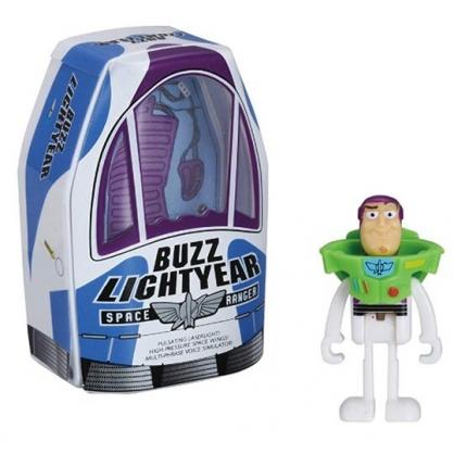 〔小禮堂〕玩具總動員 巴斯光年 TOMICA宇宙船公仔模型《藍紫.TS-03》多美小汽車.玩具