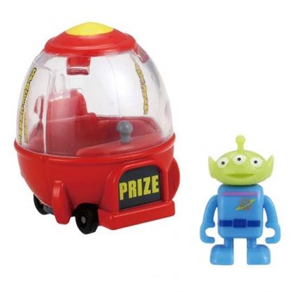 〔小禮堂〕玩具總動員 三眼怪 TOMICA火箭船公仔模型《紅綠.TS-04》多美小汽車.玩具