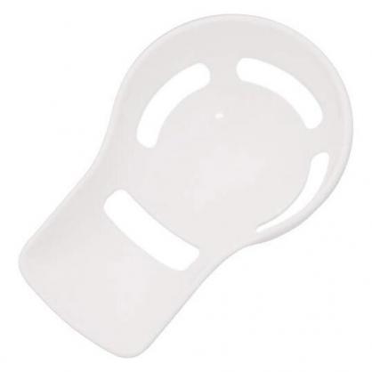 〔小禮堂〕小久保工業所 日製塑膠蛋黃蛋白分離器《白》料理匙