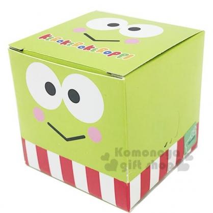〔小禮堂〕大眼蛙 迷你盒裝抽取式方形便利貼《綠.大臉》便條紙.N次貼