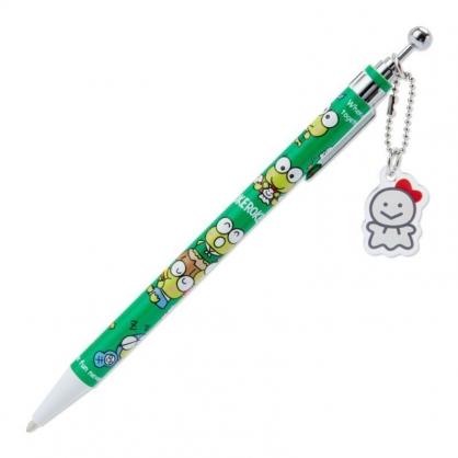 〔小禮堂〕大眼蛙 日製吊飾自動鉛筆《綠》0.5mm筆芯.晴天郊遊系列