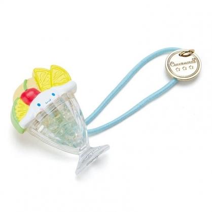 〔小禮堂〕大耳狗 聖代杯造型壓克力彈力髮束《綠黃》髮圈.髮飾.熱帶沙灘系列