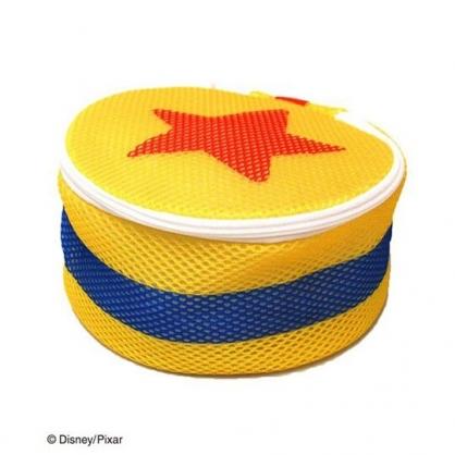 〔小禮堂〕玩具總動員 星星 圓筒洗衣袋《黃橘》洗衣網袋