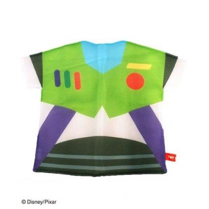 〔小禮堂〕玩具總動員 巴斯光年 衣服造型扁平洗衣袋《紫綠》洗衣網袋