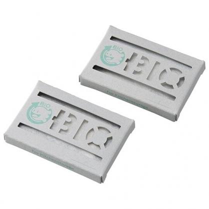 〔小禮堂〕日本GOGIT 日製流理台防潮除濕貼片組《2入.白盒裝》除臭貼片.除濕劑