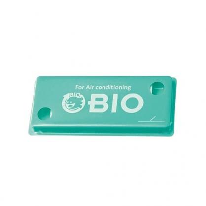 〔小禮堂〕日本GOGIT 日製冷氣口防潮除濕貼片組《2入.白盒裝》除臭貼片.除濕劑