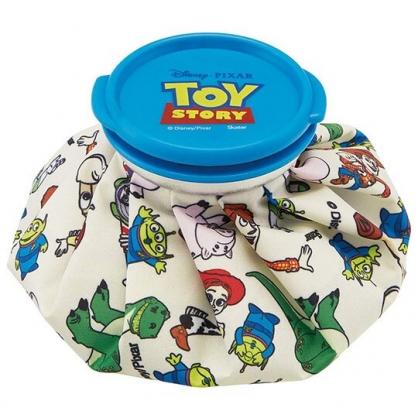 〔小禮堂〕迪士尼 玩具總動員 尼龍圓筒狀冰敷袋《米藍.角色》冰墊.冰袋.冰枕
