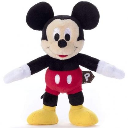 〔小禮堂〕迪士尼 米奇 四肢可動絨毛玩偶娃娃《S.黑紅》巧巧人偶.玩具.擺飾