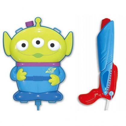 〔小禮堂〕迪士尼 三眼怪 造型塑膠水槍玩具附背帶《綠藍》沙灘玩具.戲水玩具