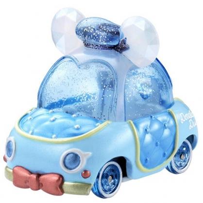 〔小禮堂〕迪士尼 唐老鴨 TOMICA小汽車水晶金龜車《藍白》珠寶車.公仔.玩具.模型