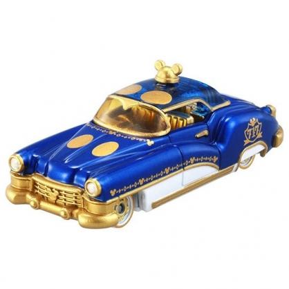 〔小禮堂〕迪士尼 米奇 TOMICA小汽車11th紀念黃金老爺車《藍白》特別版.擺飾.模型