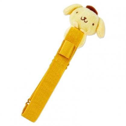 〔小禮堂〕布丁狗 絨毛玩偶娃娃手帳專用束帶《黃》筆記本束帶.日誌束帶