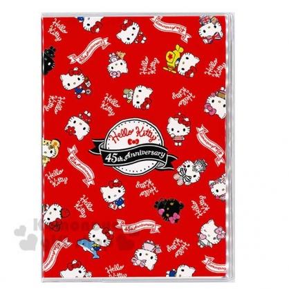 〔小禮堂〕Hello Kitty B6 2020行事曆《紅白.變裝滿版》手帳.年曆.記事本