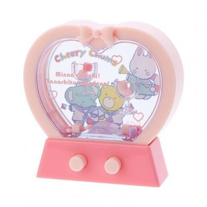 〔小禮堂〕凱莉兔 愛心造型掌中套圈圈遊戲機《粉》擺飾.兒童玩具