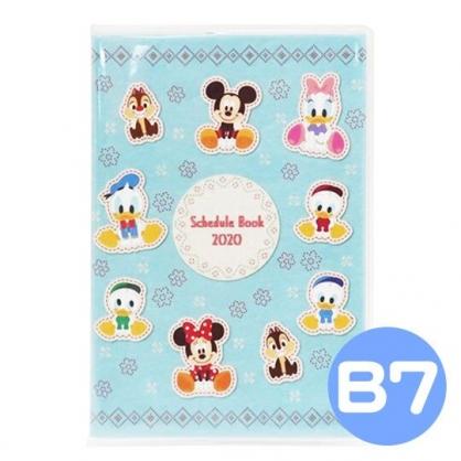 〔小禮堂〕迪士尼 2020 迷你行事曆《米綠.Q版》手帳.年曆.記事本