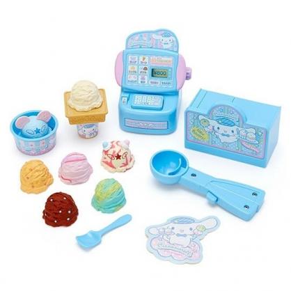 〔小禮堂〕大耳狗 冰淇淋店收銀機玩具組《藍.泡殼裝》扮家家酒.兒童玩具