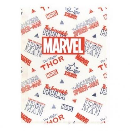 〔小禮堂〕漫威英雄 Marvel 雙開式文件夾《米紅.文字》檔案夾.資料夾.收納夾
