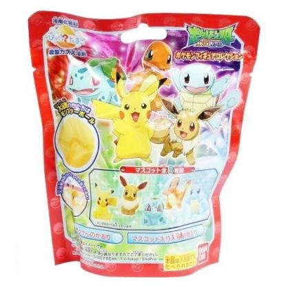 〔小禮堂〕神奇寶貝Pokemon 皮卡丘 造型入浴球《5款隨機.紅.站姿》入浴劑.泡澡球