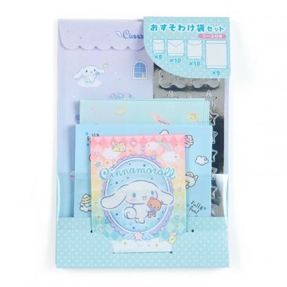 〔小禮堂﹞大耳狗 日製信封貼紙組《藍紫.抱熊》禮金袋.禮物包裝