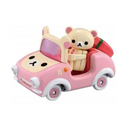 〔小禮堂〕拉拉熊 懶懶熊 TOMICA小汽車 造型敞篷車《R09.粉米》模型.玩具.公仔