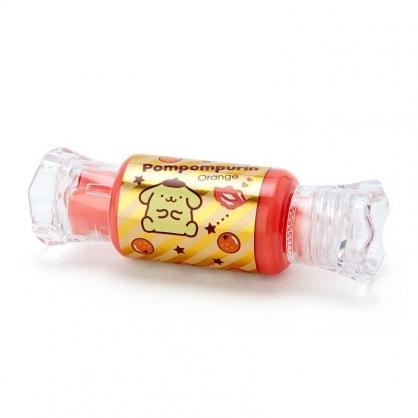 〔小禮堂〕布丁狗 糖果造型保濕香氛唇釉《黃橘》柑橘香.唇膏.唇彩