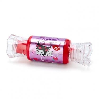 〔小禮堂〕酷洛米 糖果造型保濕香氛唇釉《紫紅》覆盆子香.唇膏.唇彩