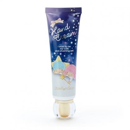 〔小禮堂〕雙子星 條狀保濕香氛護手霜《深藍》百合香.護手乳.手部保養