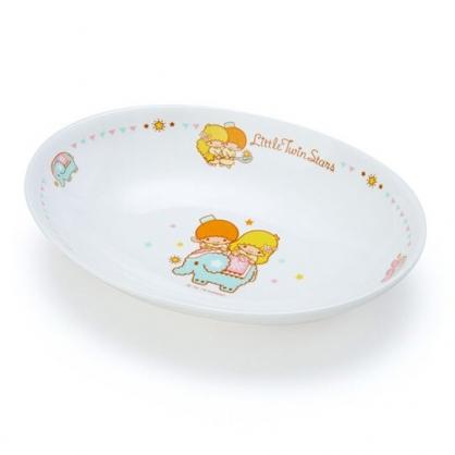 〔小禮堂〕雙子星 橢圓陶瓷咖哩盤《白棕》沙拉盤.點心盤.異國廚房系列
