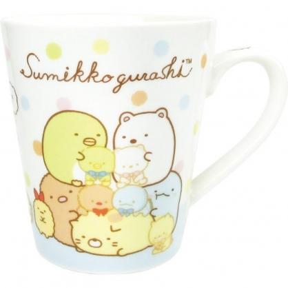 〔小禮堂〕角落生物 陶瓷馬克杯《白綠.玩偶》茶杯.咖啡杯